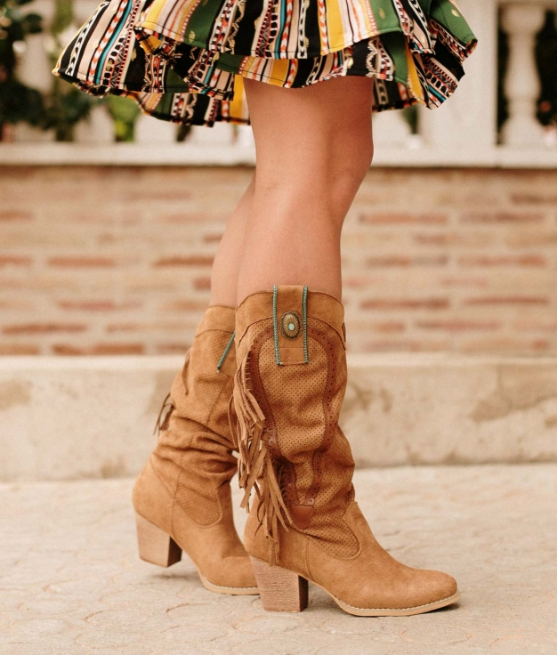 Knee-length Boot Wein - Camel