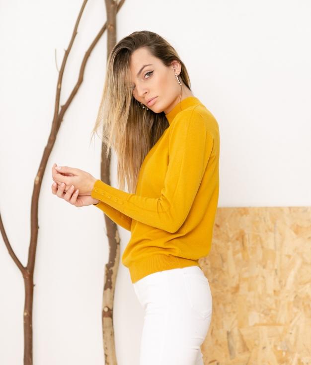 Sweater Pantor - Mustard