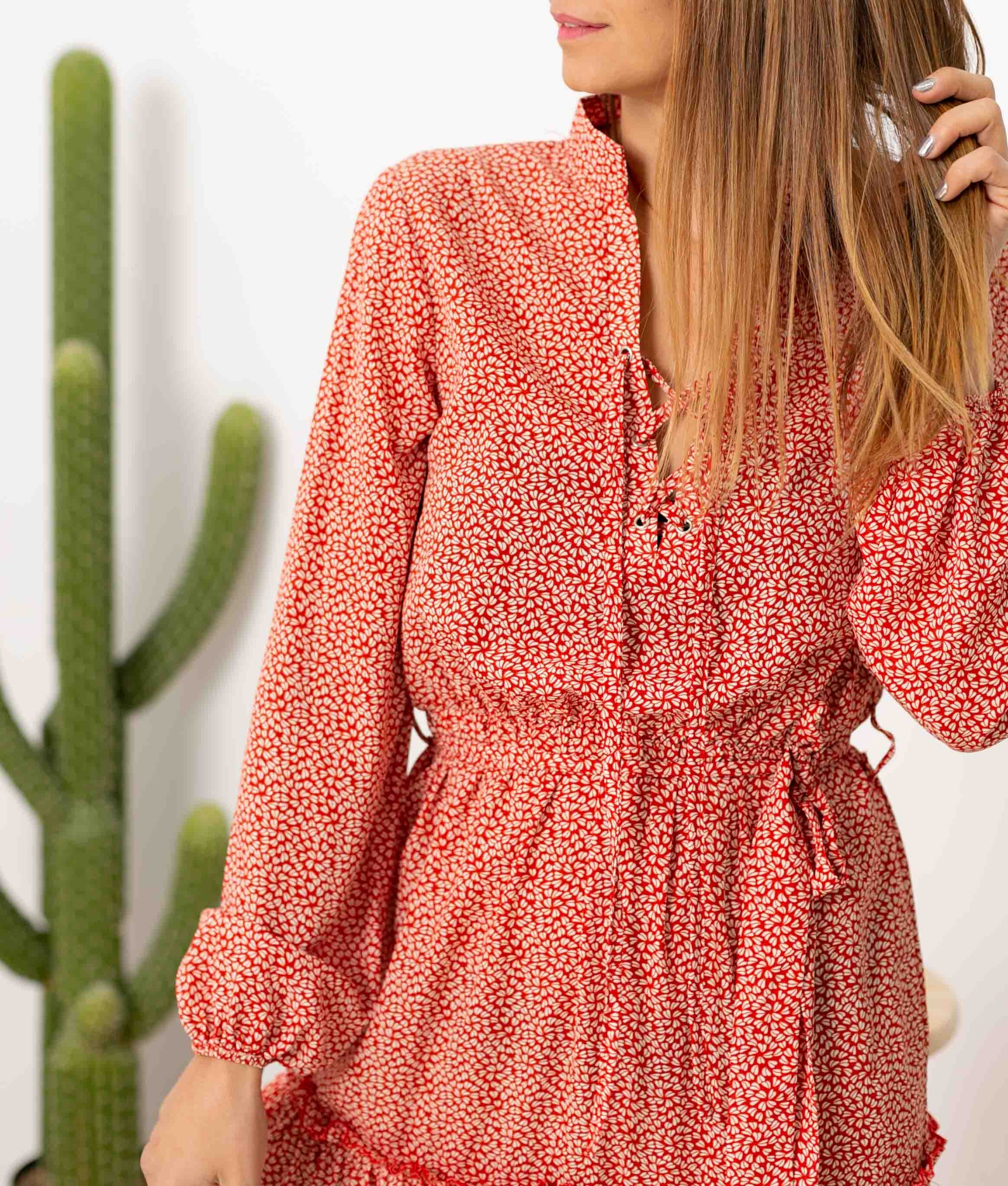 Vestido Liquetur - Rojo