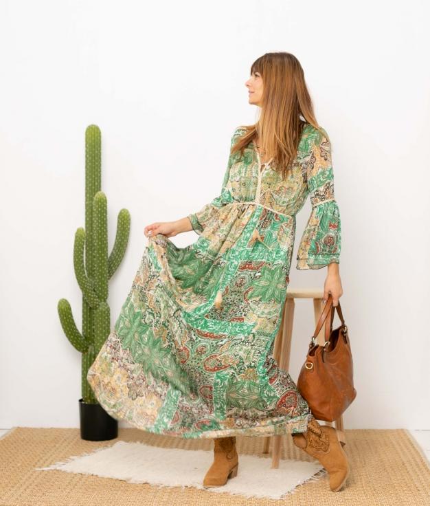 Vestido Gibarse - Verde