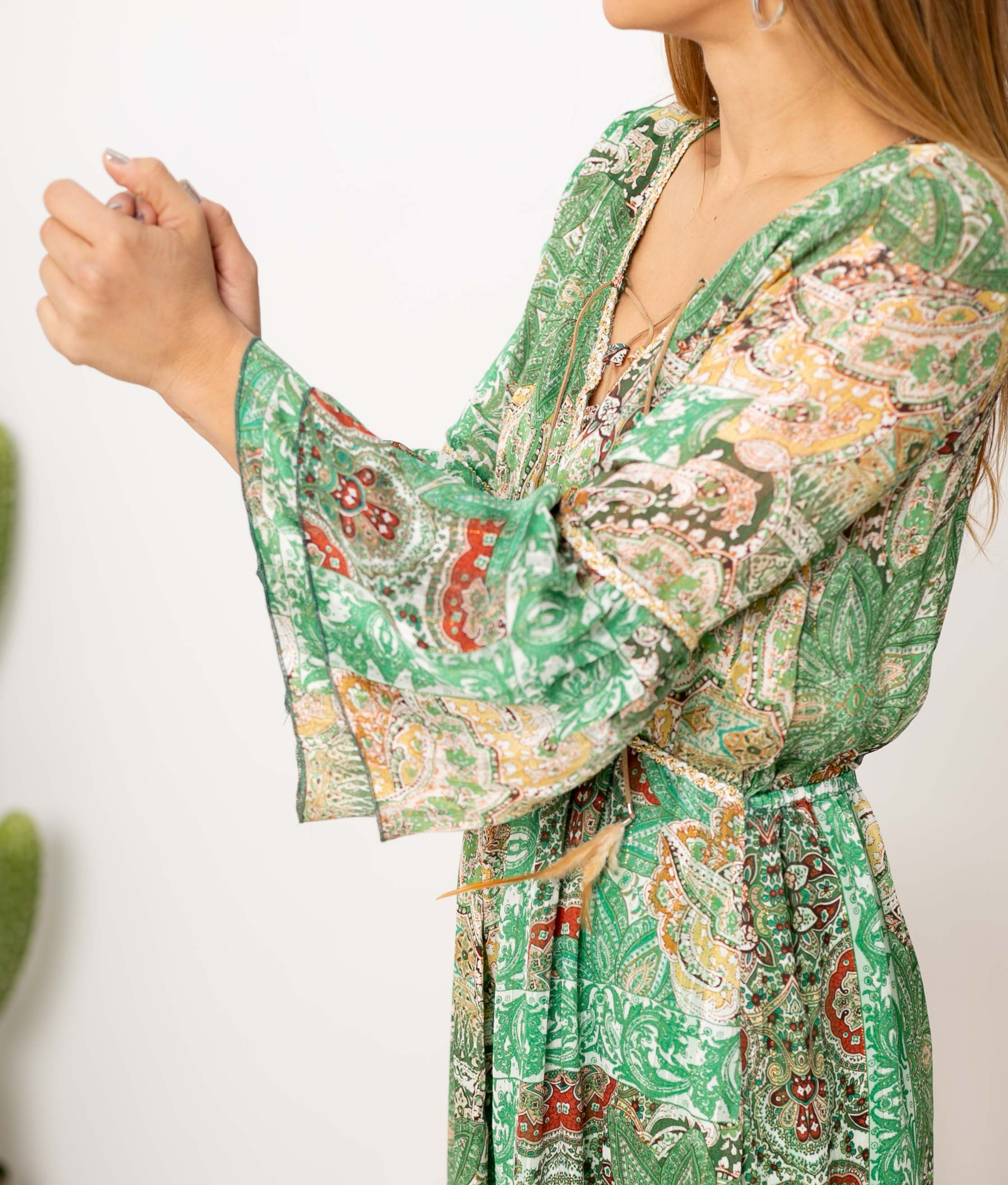 Dress Gibarse - Green