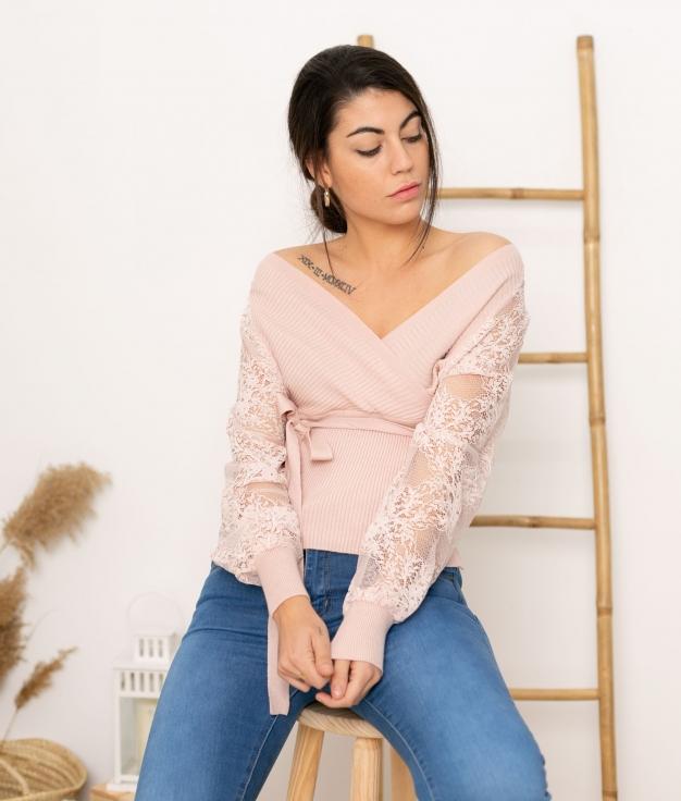 Sweater Juma - Pink