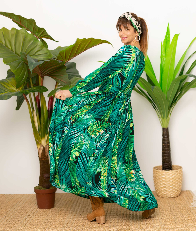 Vestido Osako - Preto