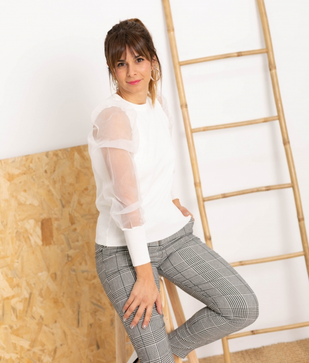 Sweater Noela - White