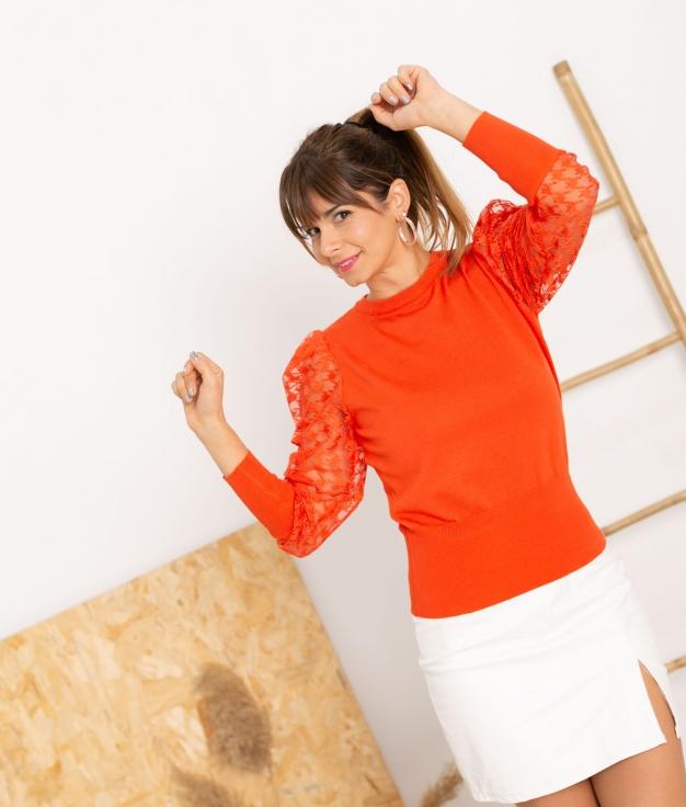 Sweater Dictina - Naranja