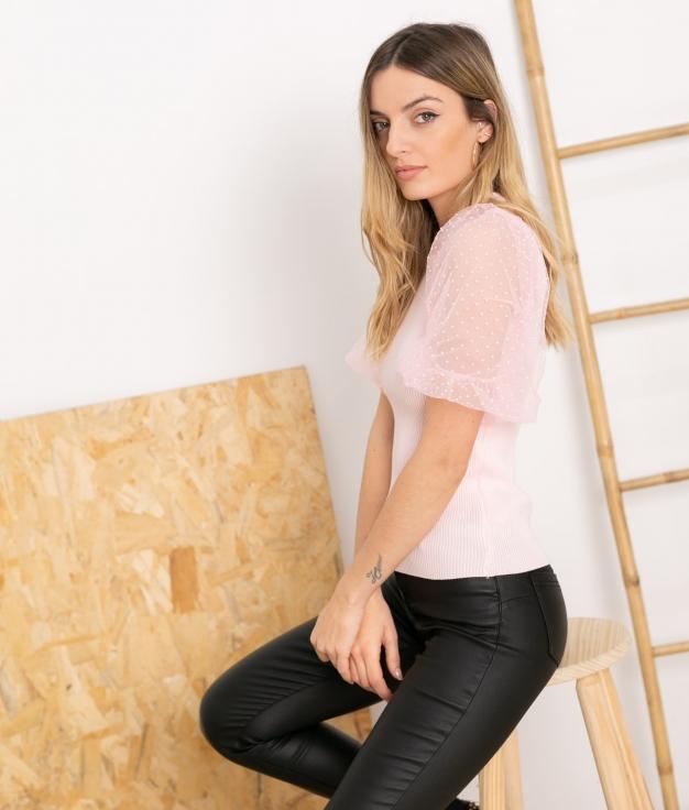 T-shirt Popper - Rose