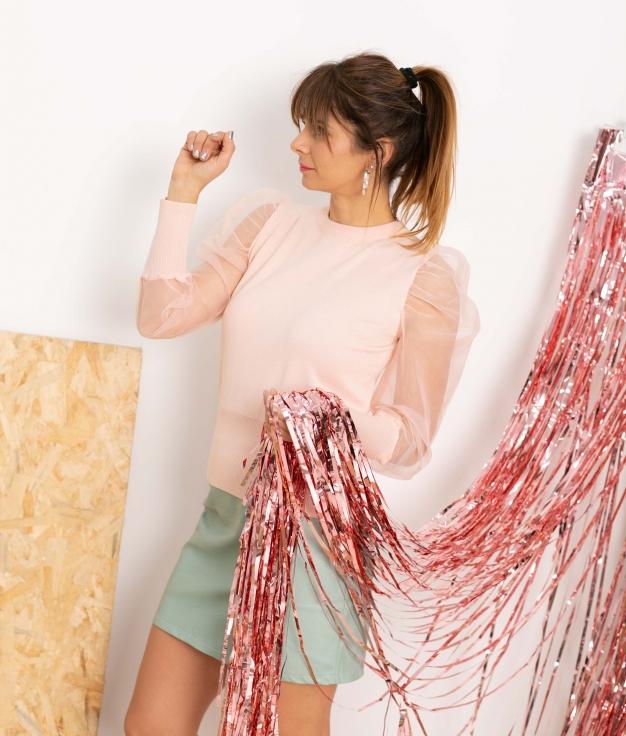 Sweater Noela - Pink