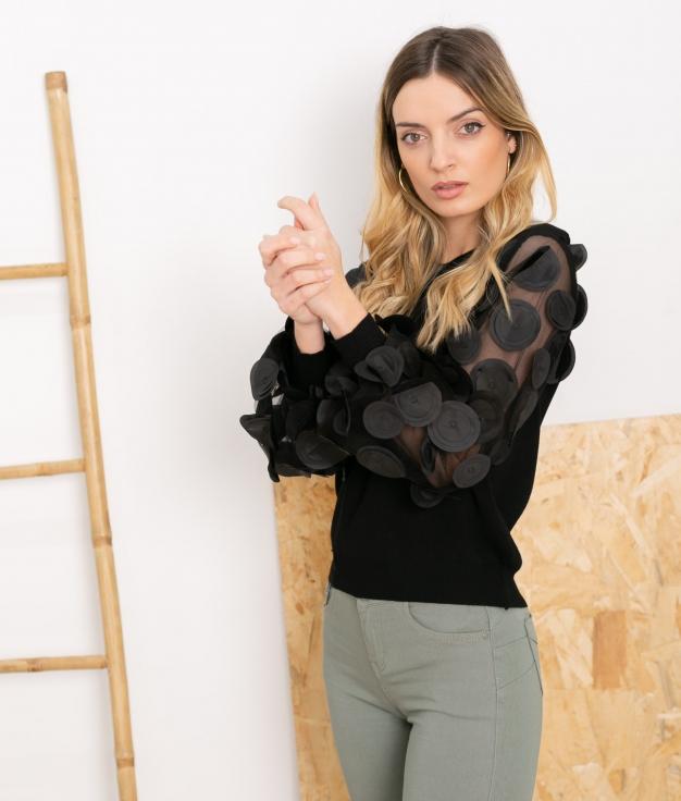 Sweater Platerno - Black