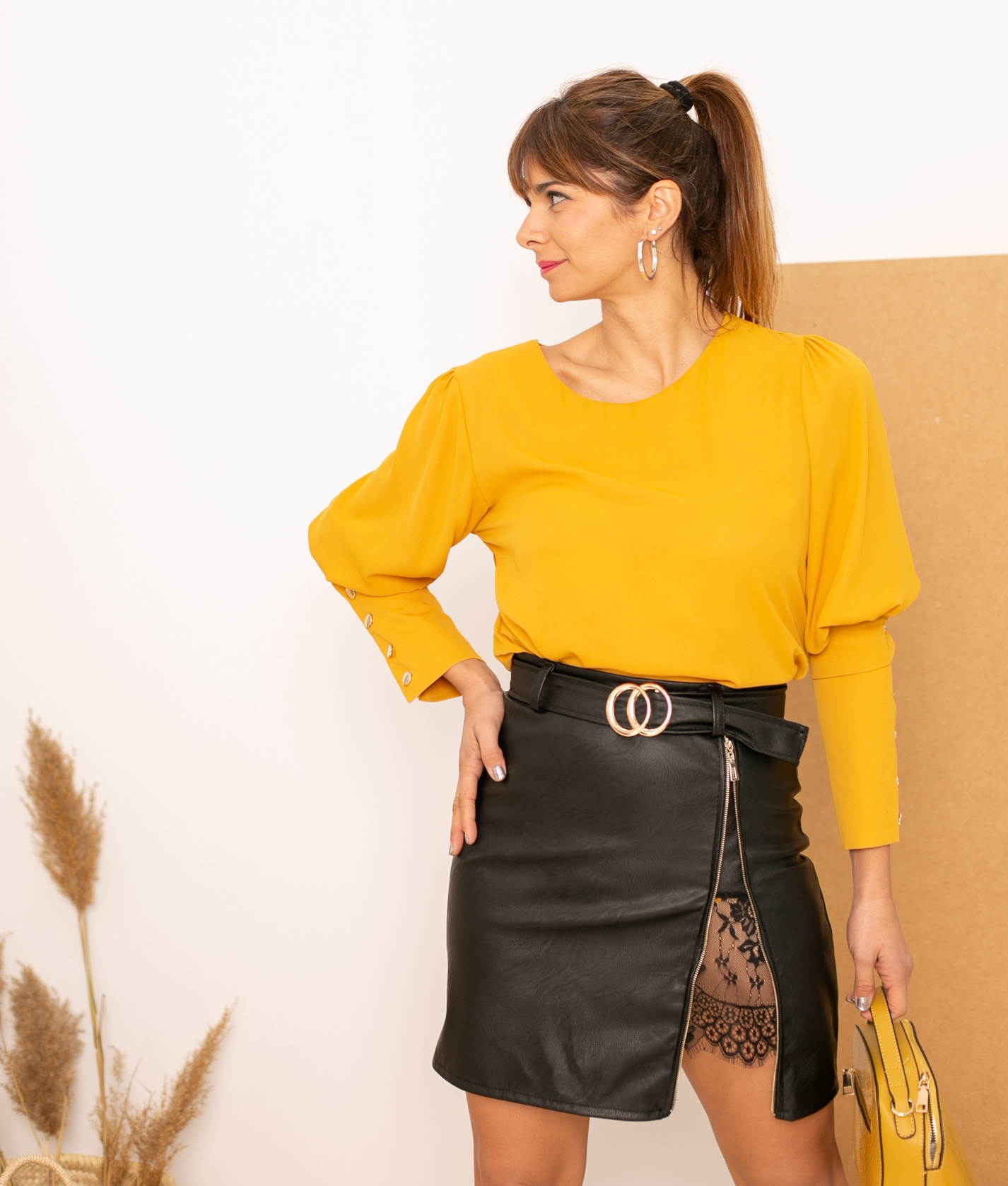 Skirt Enralde - Black