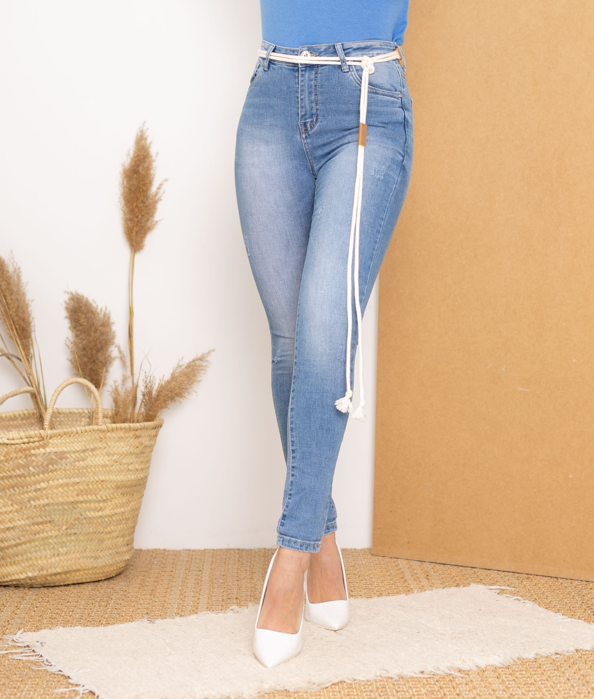 Pantalon Nory - Denim