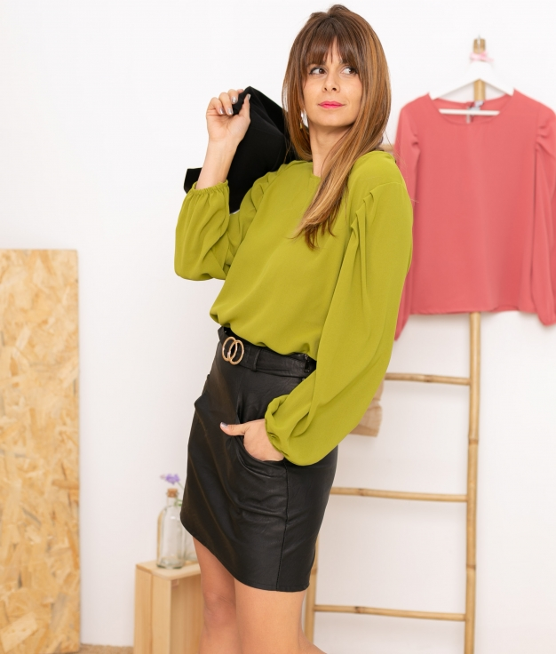 Blouse Gertres - Green