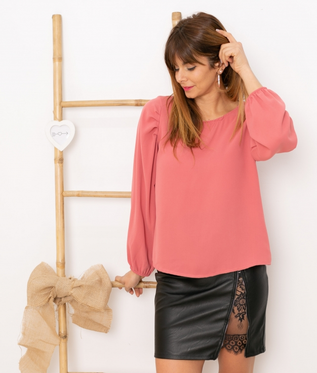 Blouse Gertres - Pink