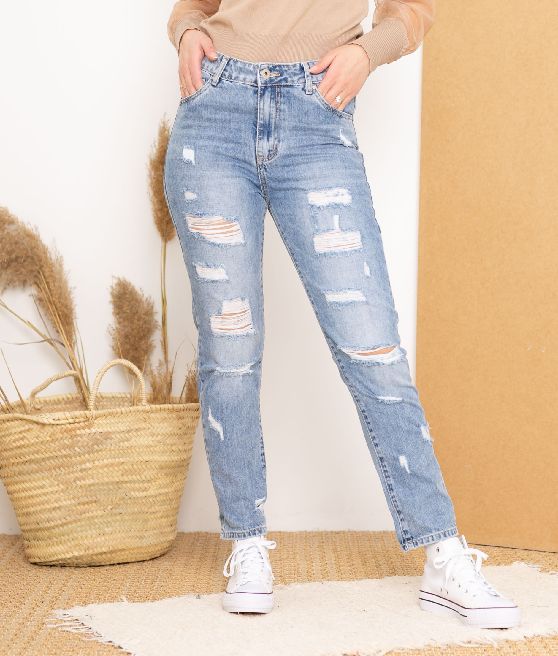 Trousers Dombina - Denim