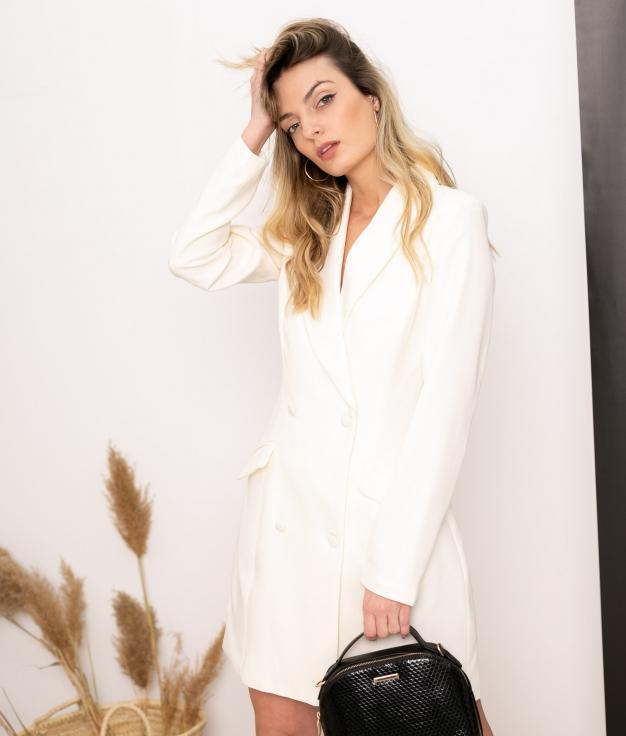 Vestido Xaque - Bianco