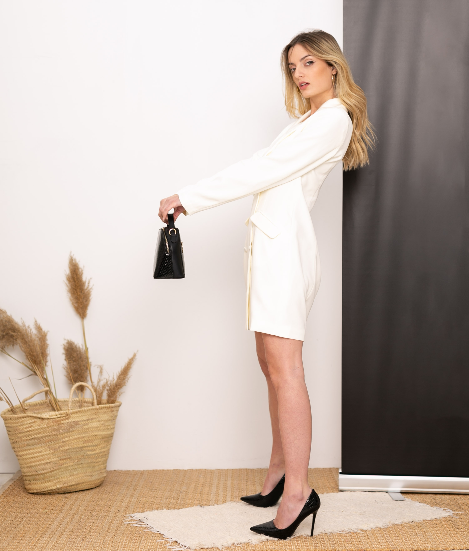 Vestido Chaque - Branco