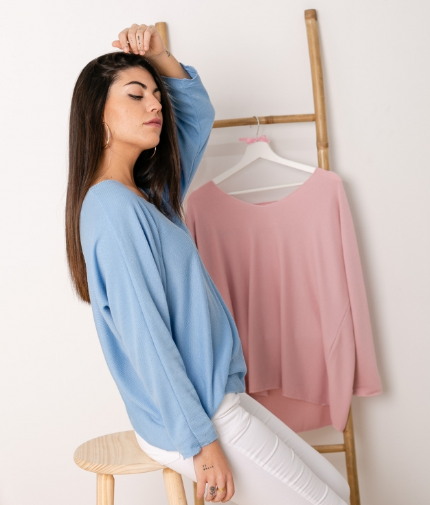 Sweater Mical - Blue