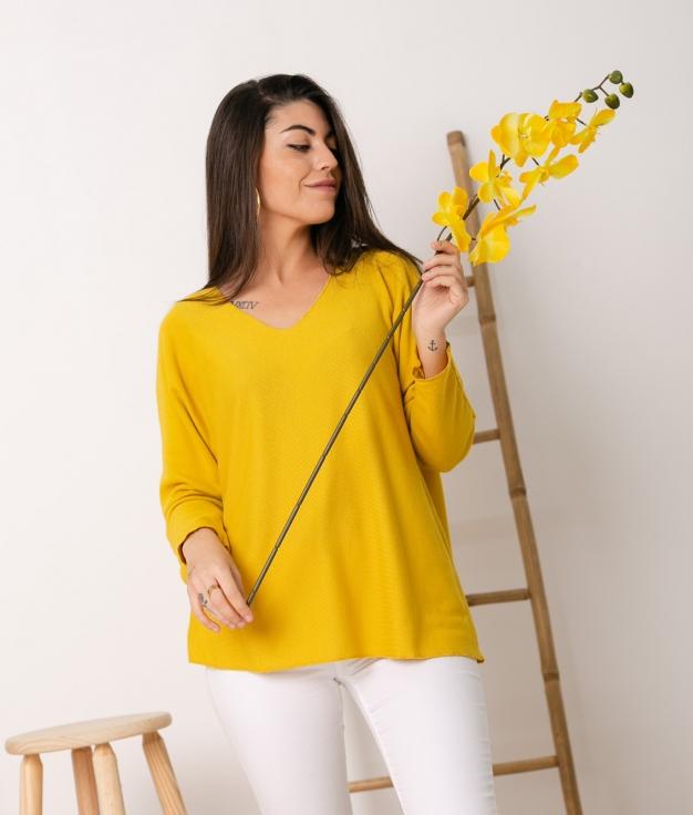 Sweater Mical - Mustard