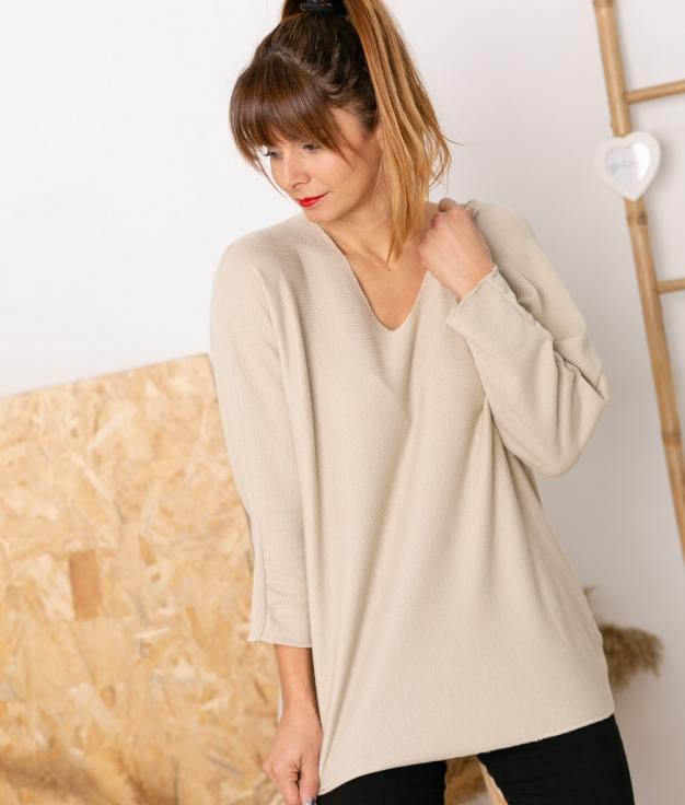 Sweater Mical - Beige