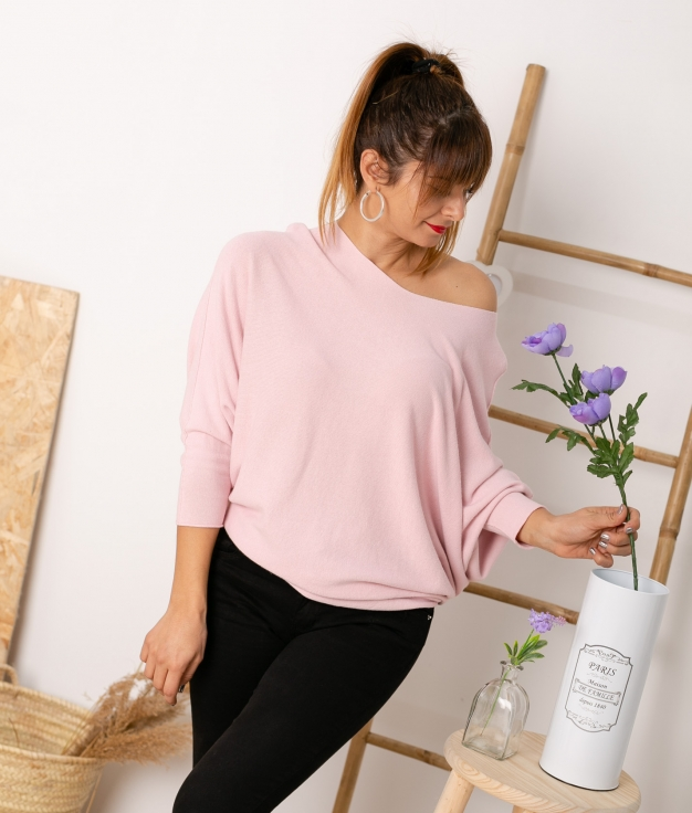 Sweater Osory - Rosa