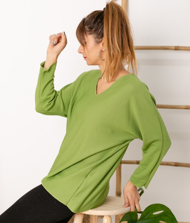 Sweater Mical - Green Olive