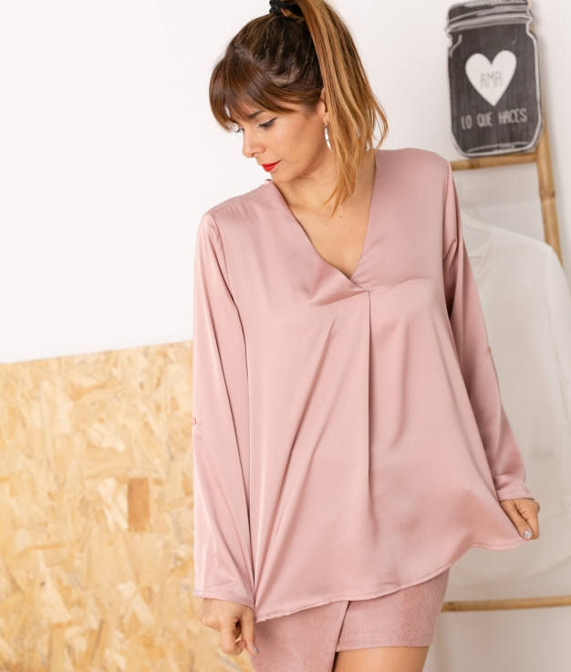 Blouse Kylie - Rose