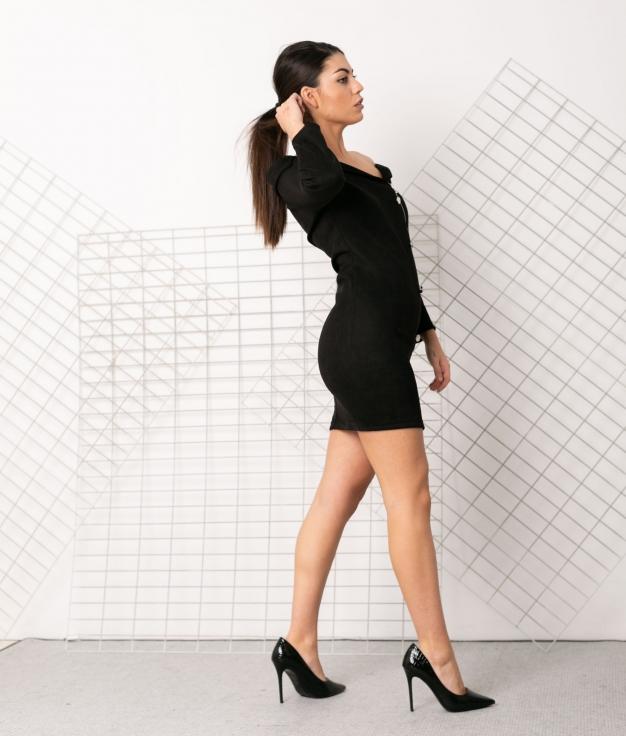 Vestido Juque - Noir