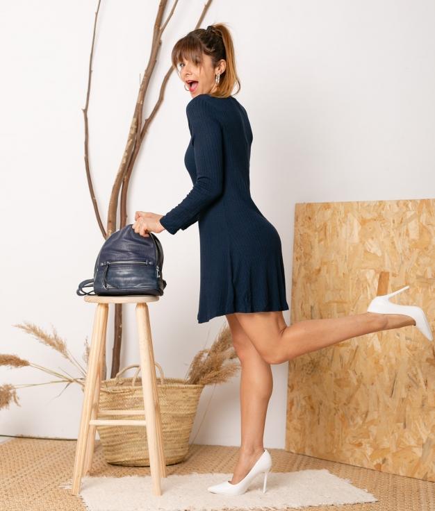 Vestido Malates - Azul Marinho