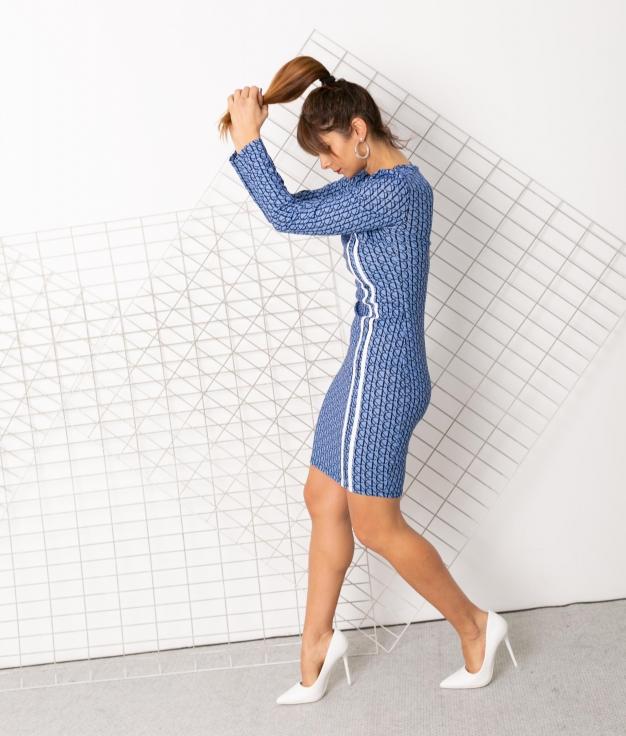 Dress Carias - Blue
