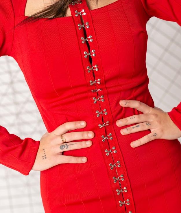 Vestido Neme - Rojo