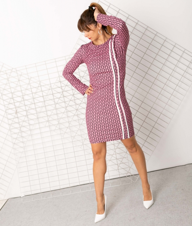 Dress Carias - Pink