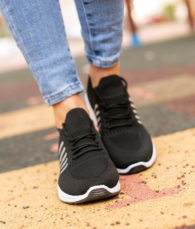 Sneakers Peser - Negro