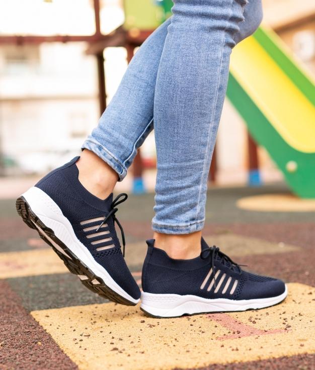 Sneakers Peser - Bleu Marine