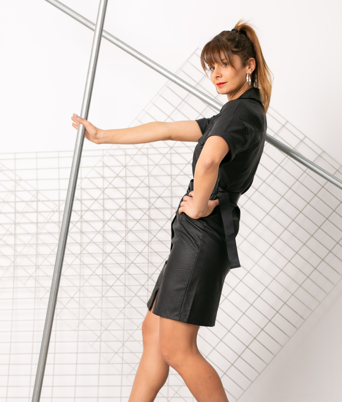Vestido Ganser - Black