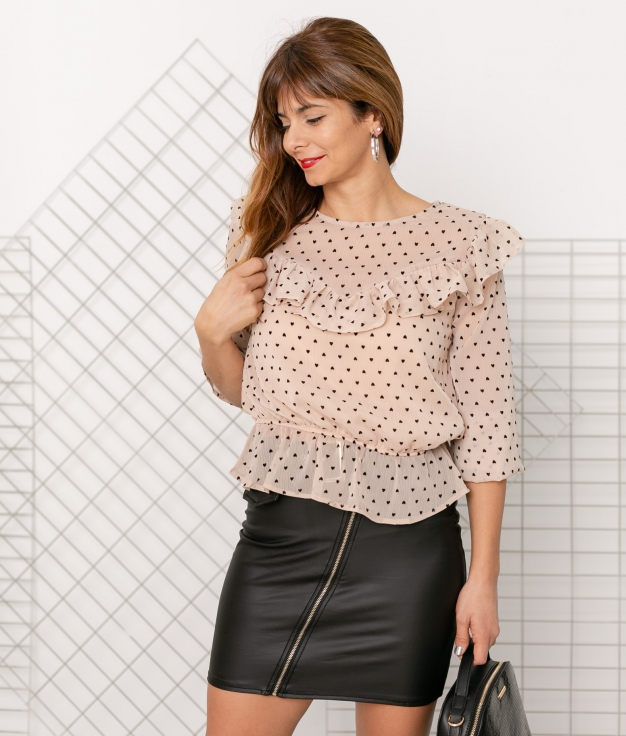Blusa Pao - Bege