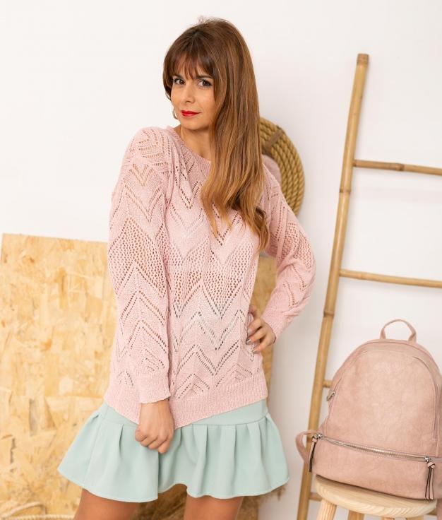 Sweater Adasa - Pink
