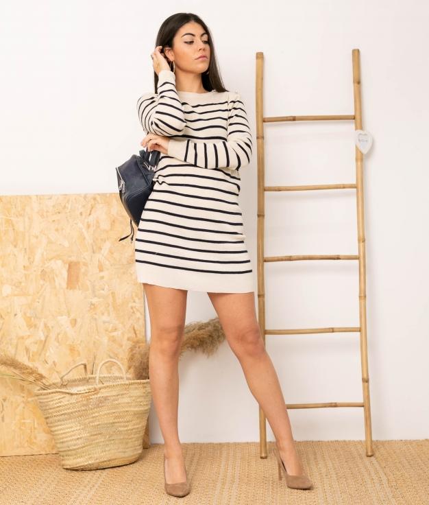Vestido Esmer - Beige