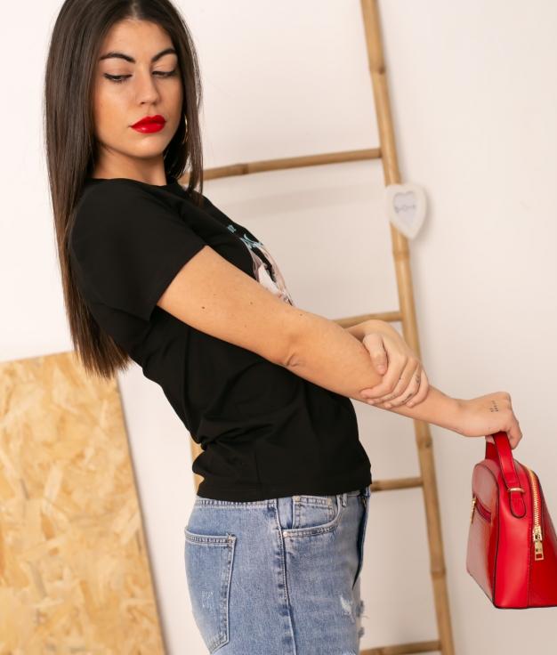 T-shirt Blasa - Noir
