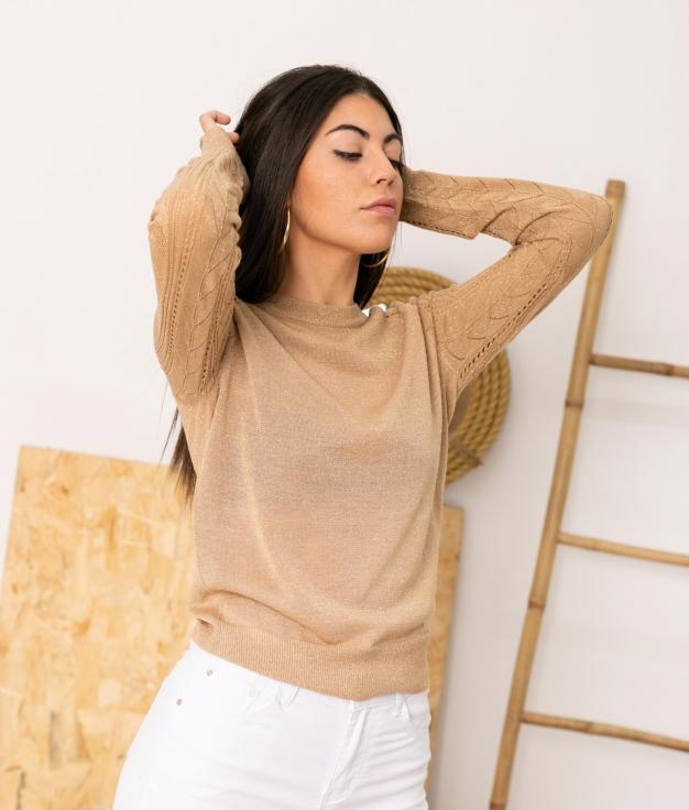 Sweater Dacil - Beige