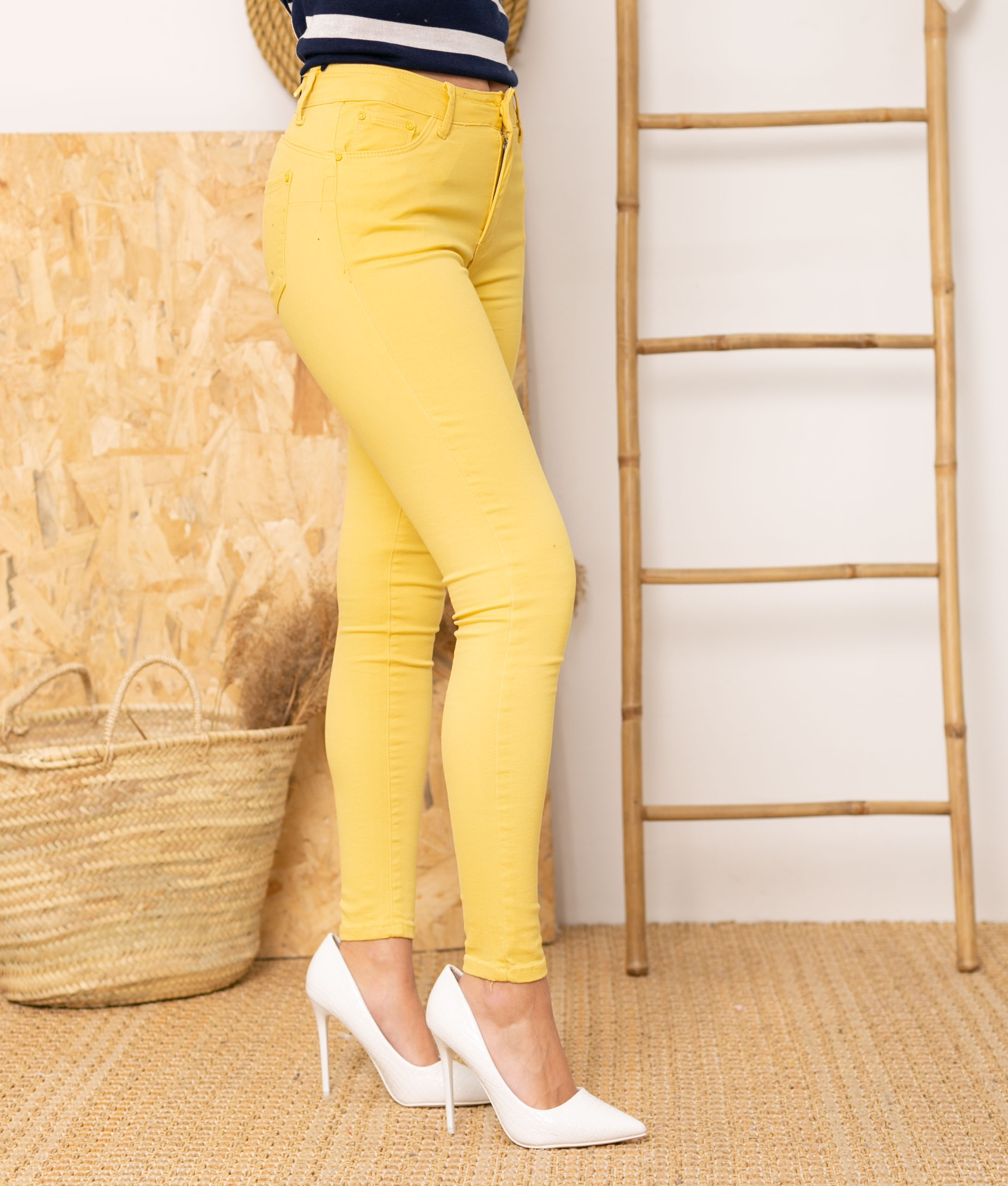 Calça Glater - Amarillo