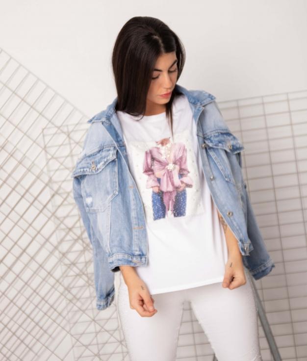 T-shirt Otil - Blanc