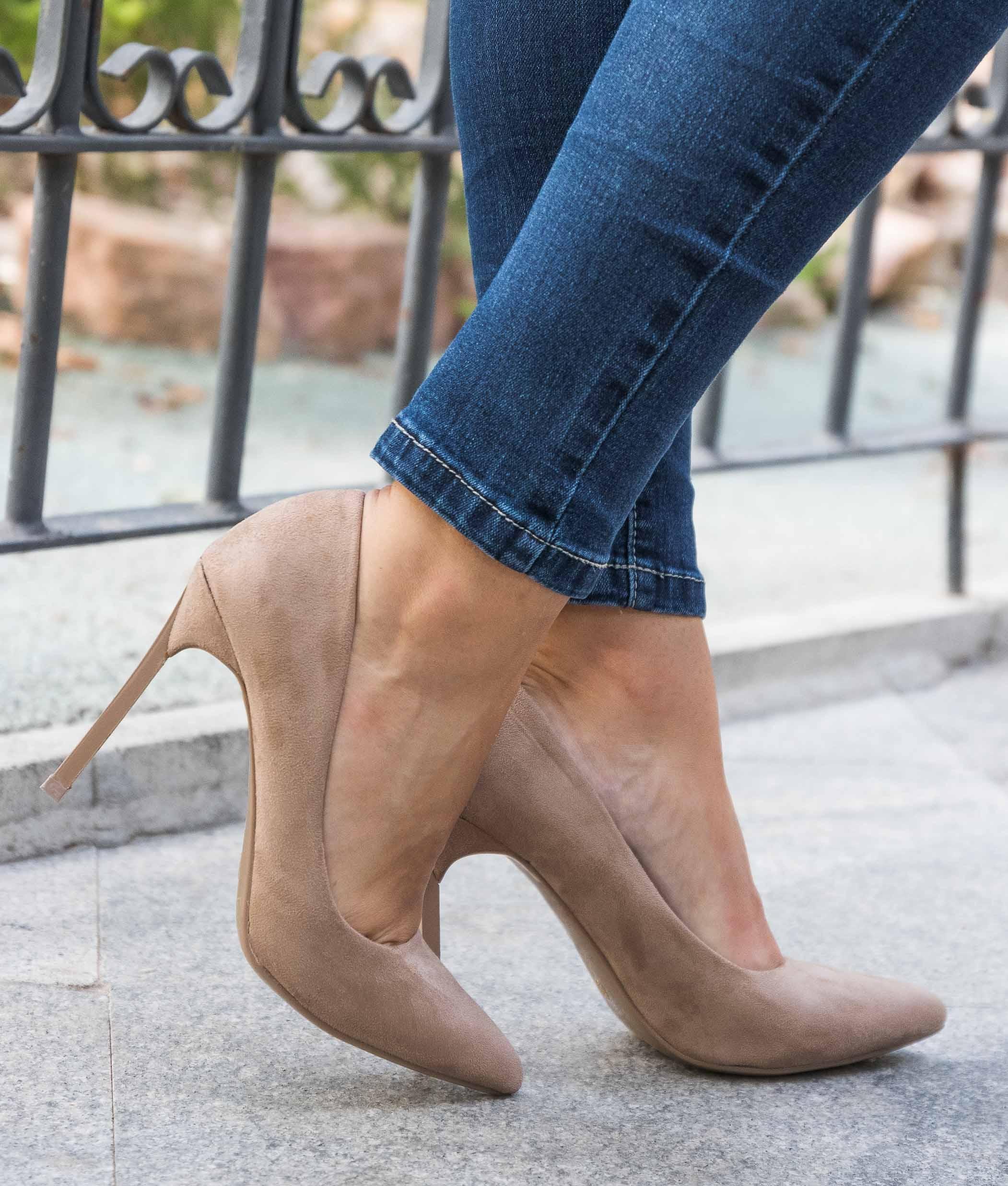 Shoe Denisa - Khaki