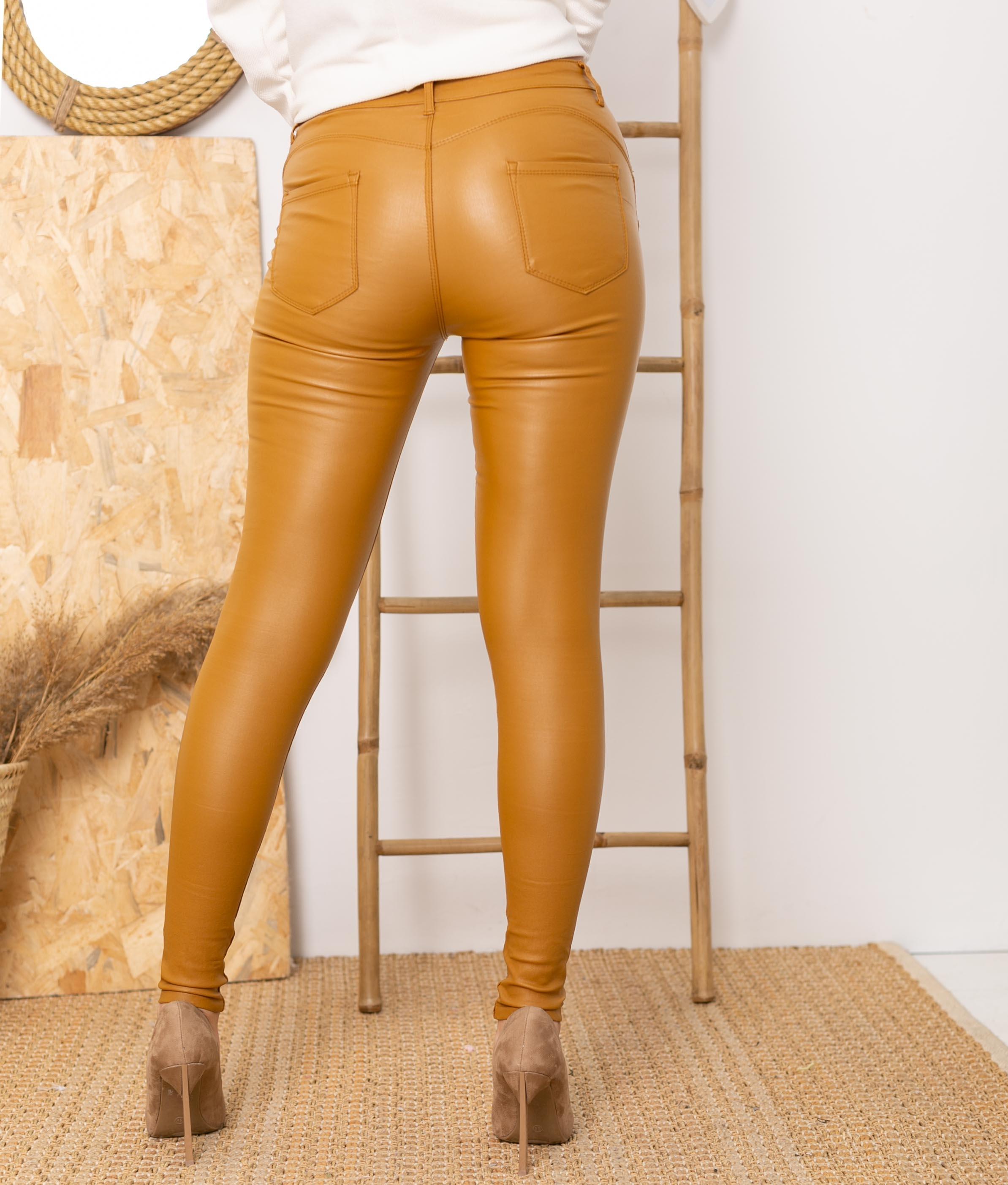 Pantalon Queru - Moutarde