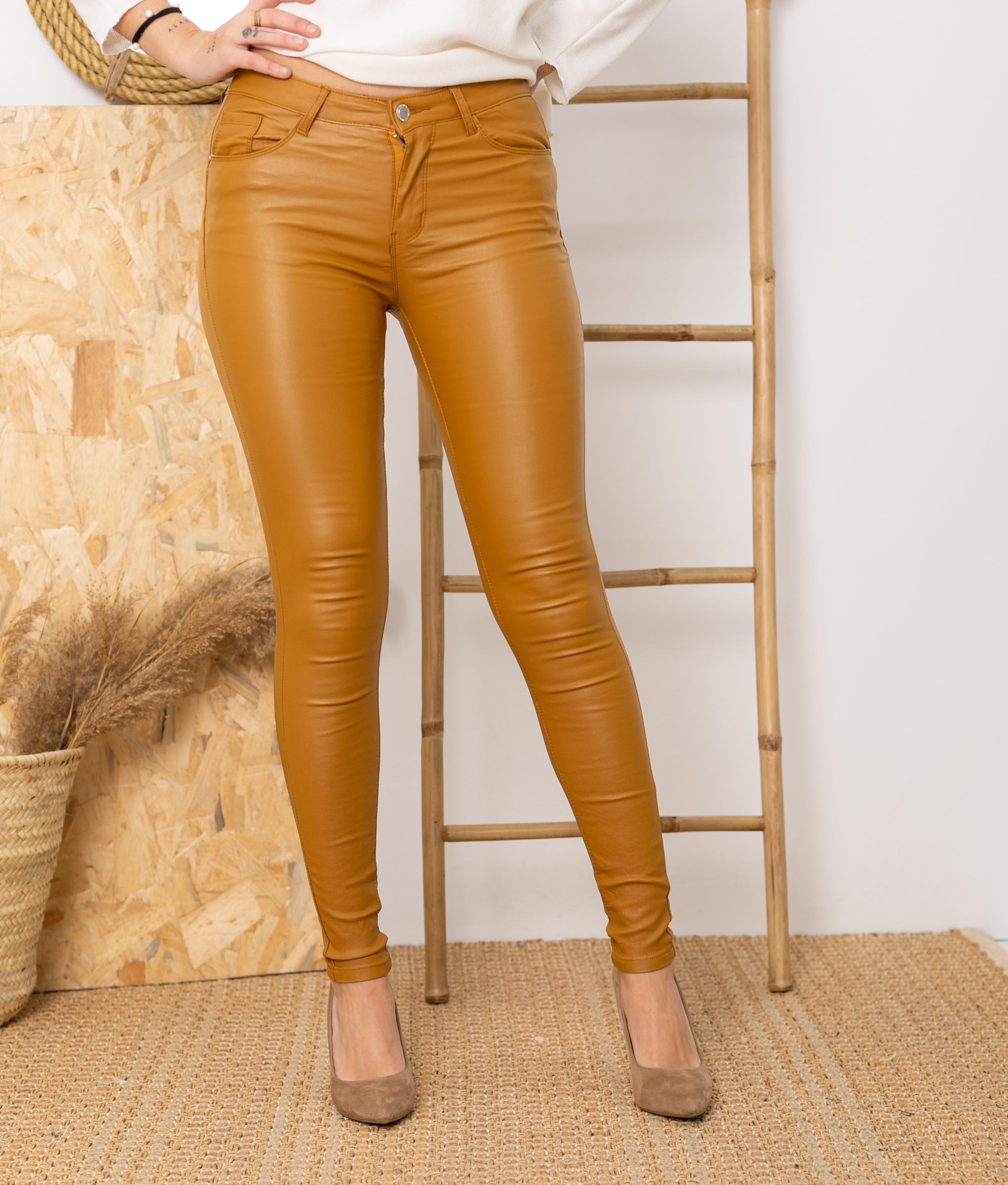 Pantaloni Queru - Senape