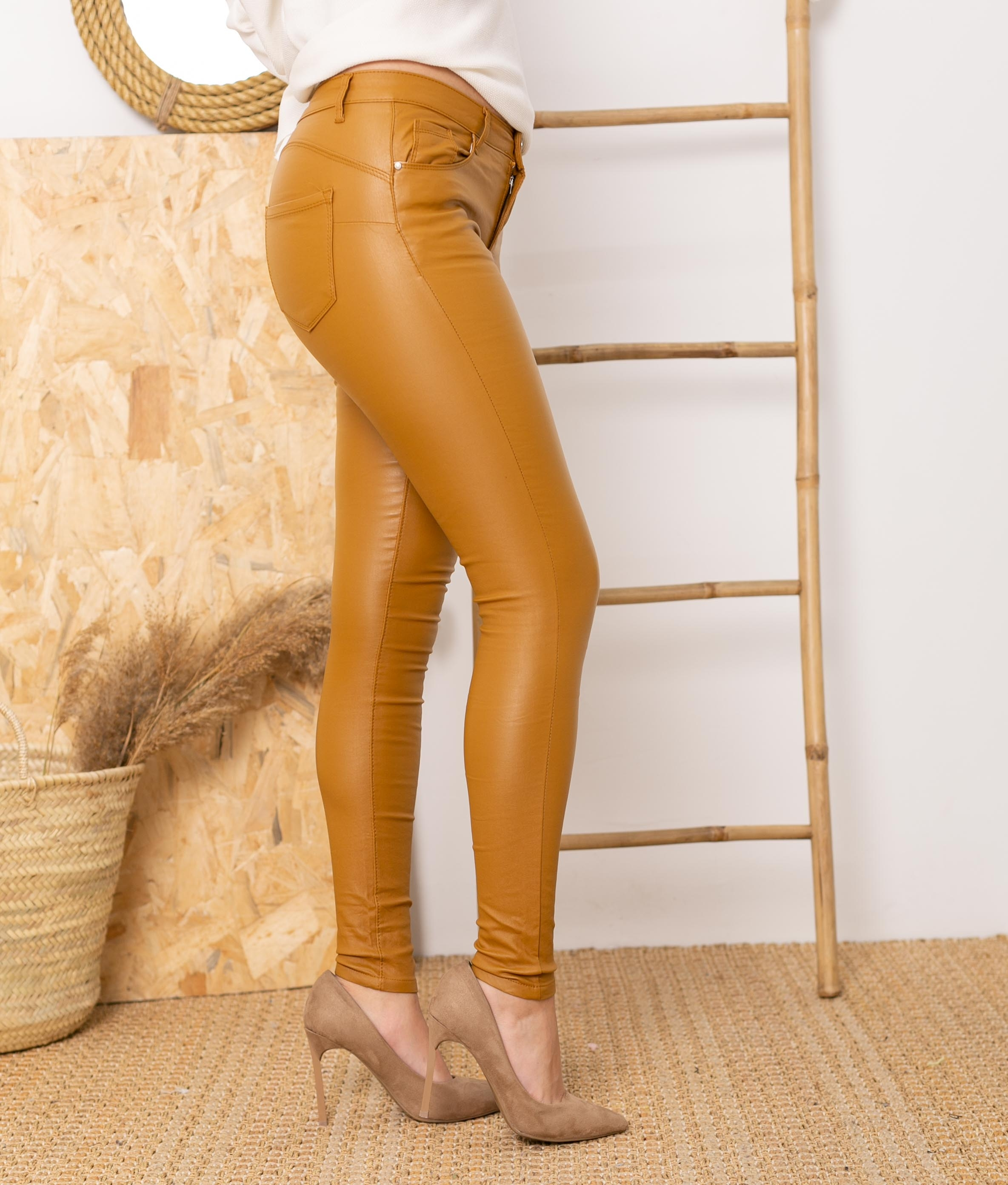 Trousers Queru - Mustard