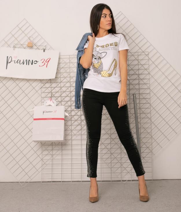 T-shirt Fusca - Blanc