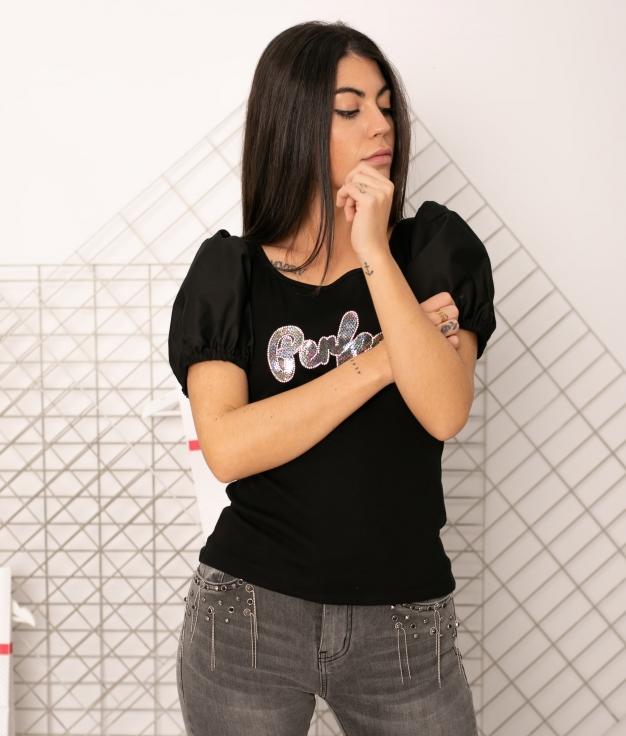T-shirt Rutula - Noir