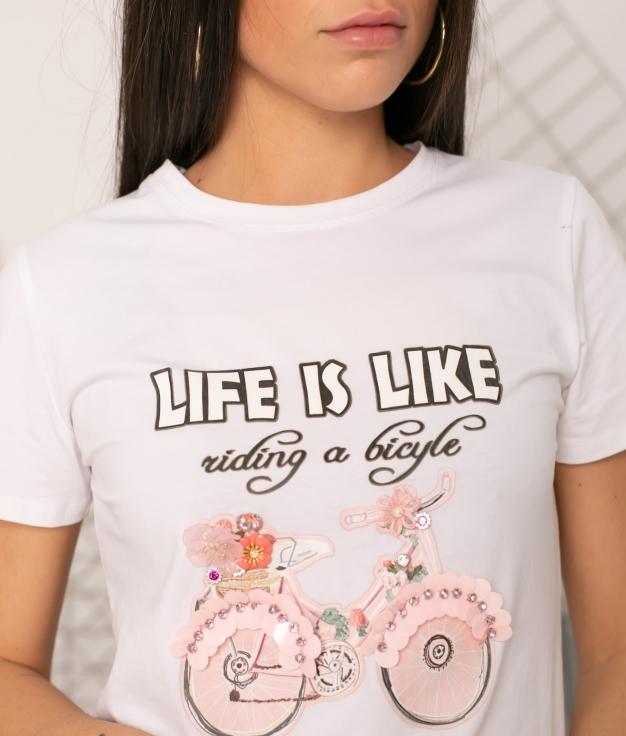 T-shirt Fidola - Blanc