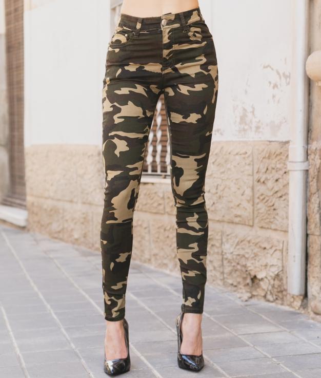 Pantalón Dipera - Camuflagem