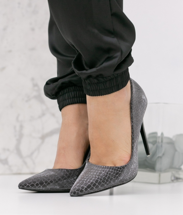 Zapato de Tacón Nilena - Negro