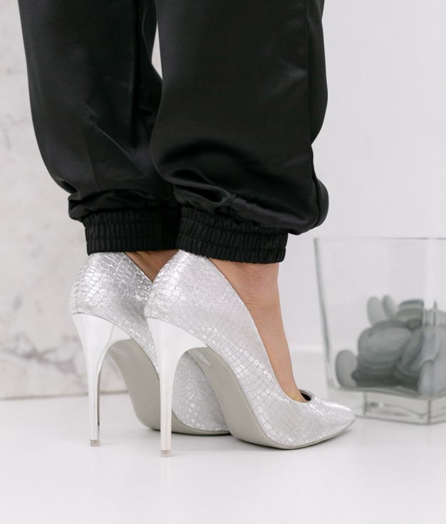 Zapato de Tacón Nilena - Plata